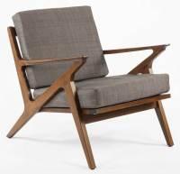 Lounge Chair in Teak - Walmart.com