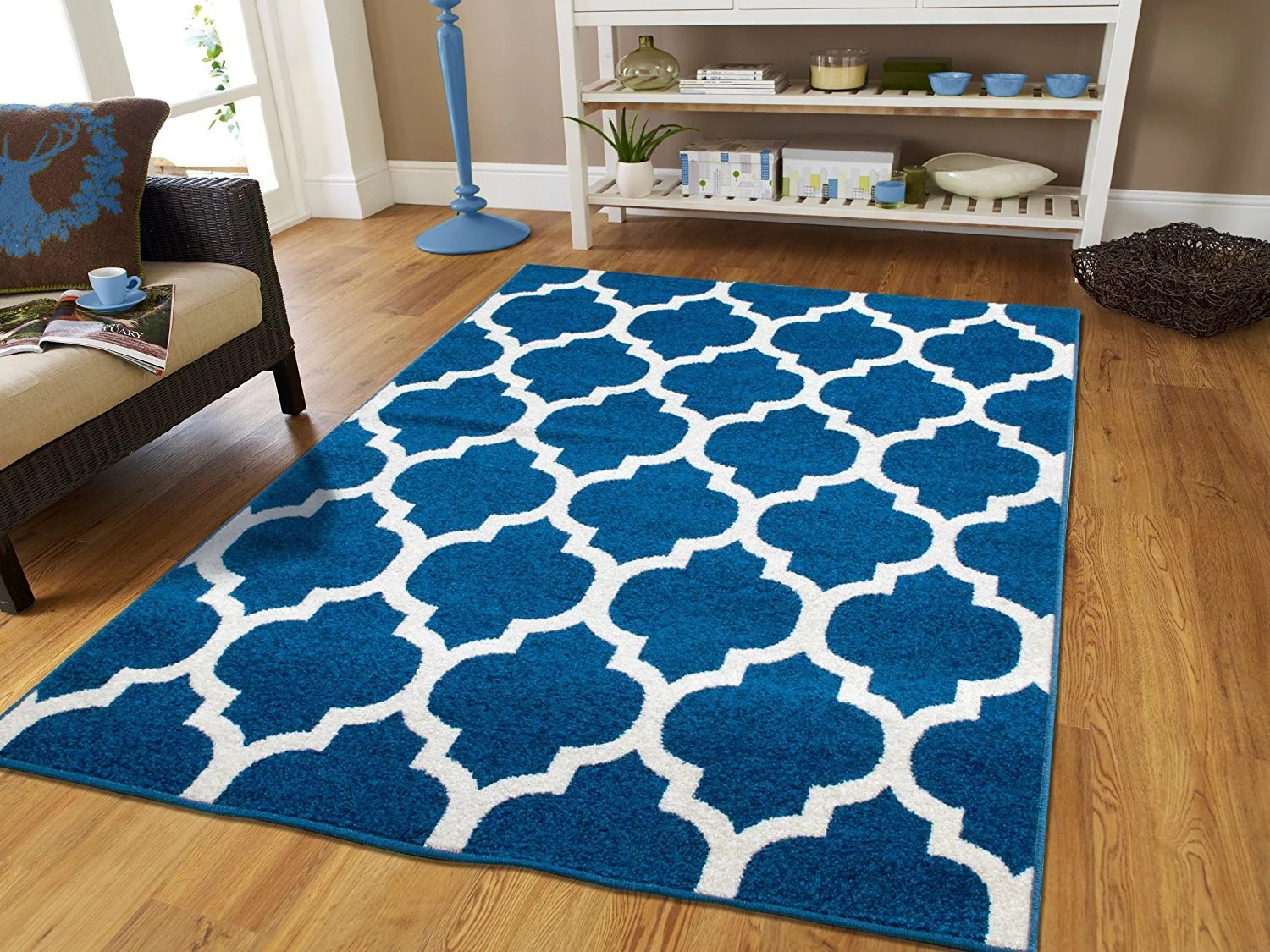 living rooms with blue area rugs room white walls and brown furniture contemporary 5x7 on clearance 5 by 7 rug for walmart com