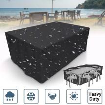 4 Size Outdoor Rectangular Waterproof Furniture Cover