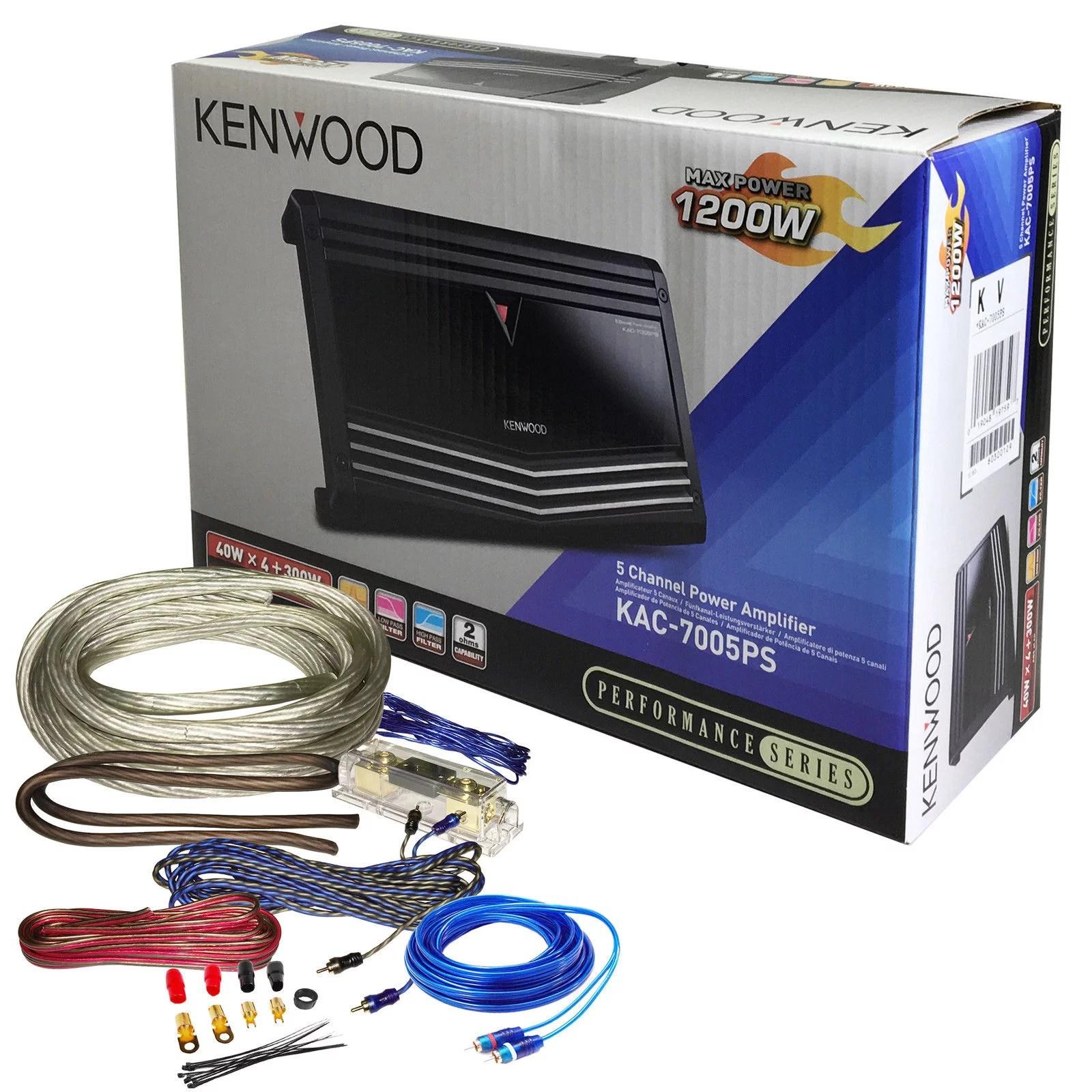 kenwood kac 7005ps 700w rms 5 channel car amplifier 1200w w wiringkenwood kac 7005ps 700w rms [ 1600 x 1600 Pixel ]