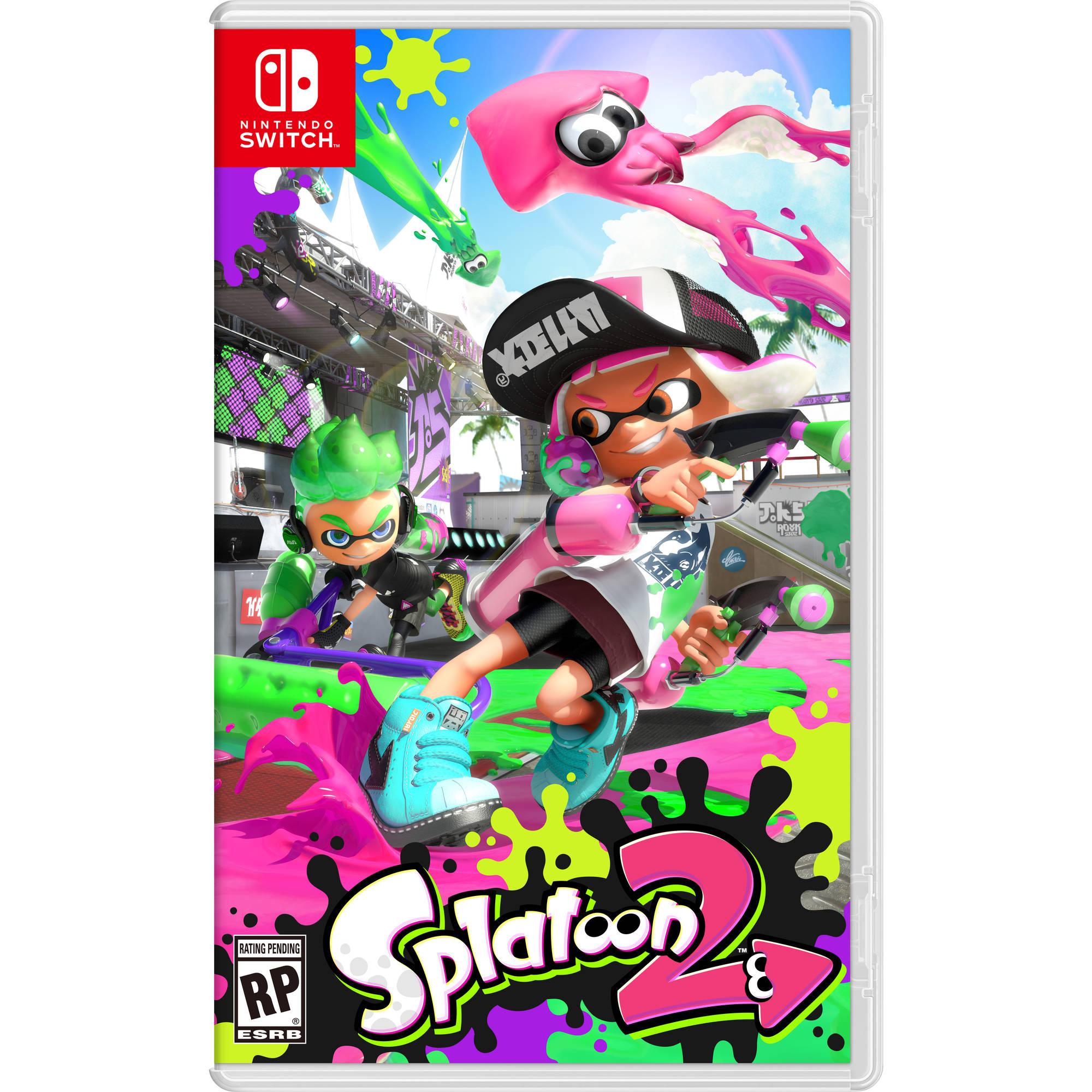 Splatoon 2 Nintendo Switch Walmart