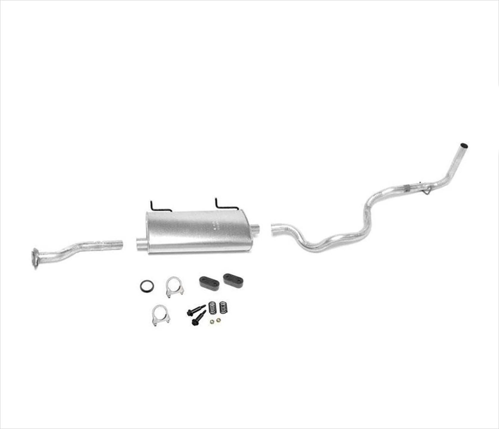 95 97 ranger b2300 with 114 inch w b 2 3l 3 0l 4 0l muffler exhaust pipe system walmart com