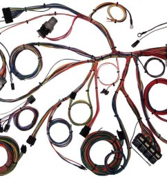 american autowire wiring system mustang 1967 68 kit p n 510055 walmart com [ 1584 x 900 Pixel ]