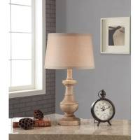 Better Homes and Gardens Rustic Table Lamp, White-Washed ...