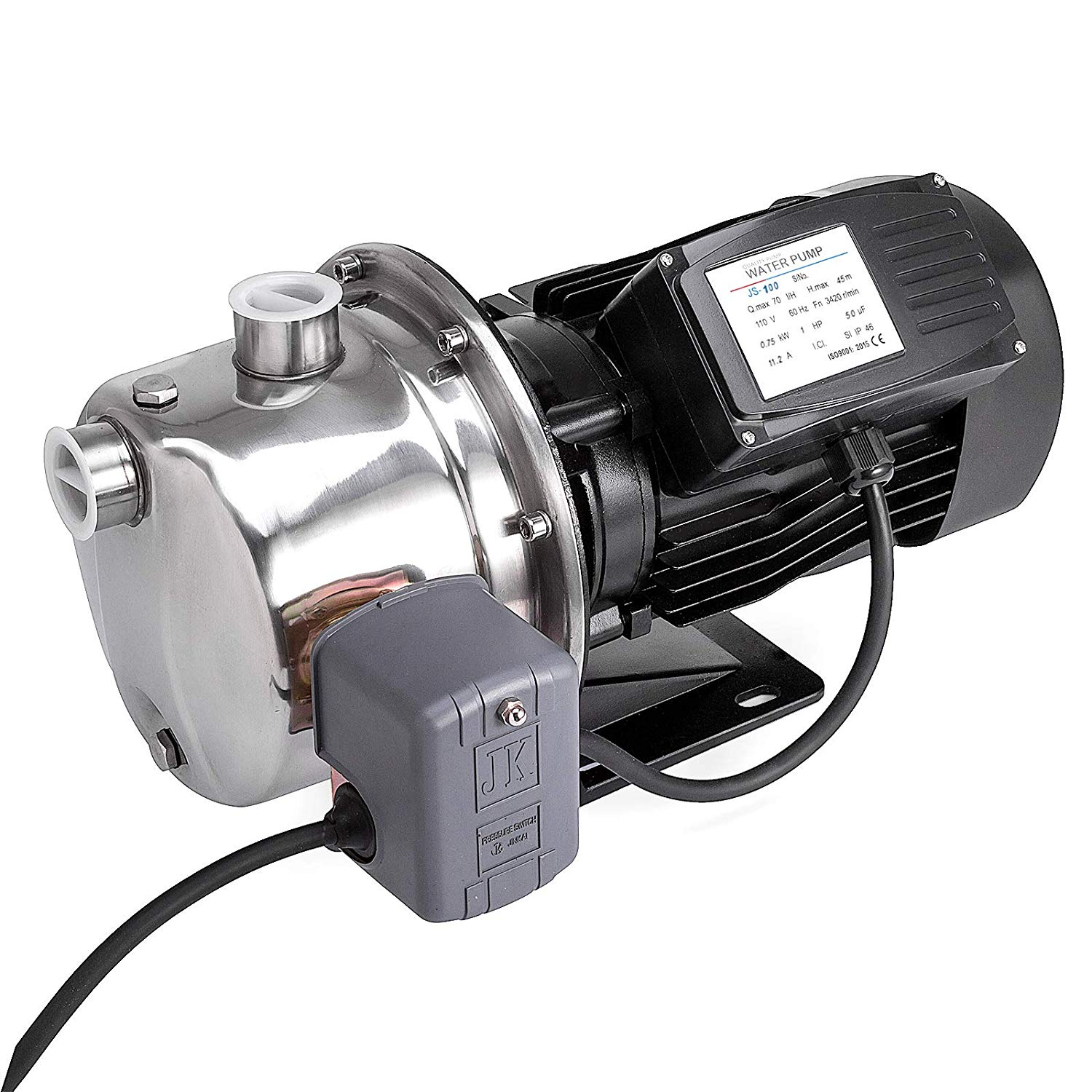 Bestequip 1 Hp Shallow Well Jet Pump 110v With Pressure