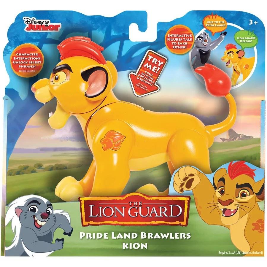 Lion Guard Battle Brawlers Kion Walmart