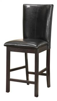 Extra Tall Bar Stool in Black - Set of 2 - Walmart.com
