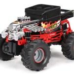 New Bright 1 14 Scale Radio Controlled Hot Wheels Bone Shaker Monster Truck 2 4ghz Walmart Com Walmart Com