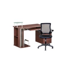 Computer Desk Chair Walmart Mechanical 2 Piece Office Set With And Com
