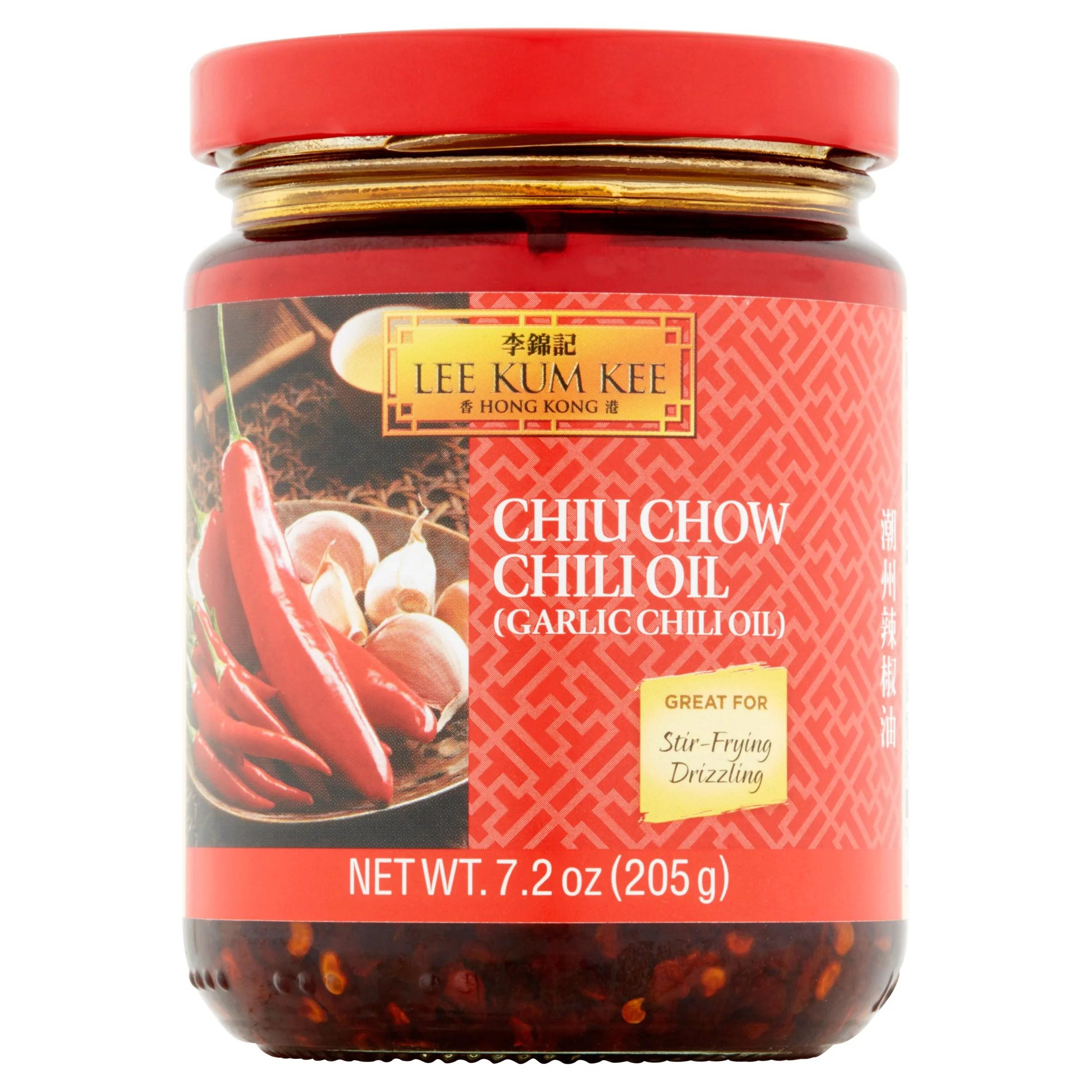 Lee Kum Kee Panda Garlic Chili Oil 7.2 fl oz - Walmart ...