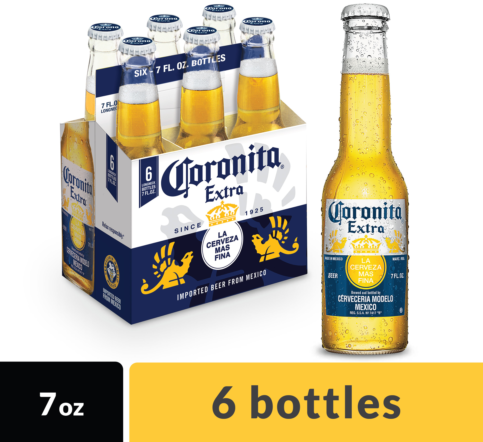 corona extra coronita mexican