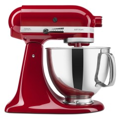 Kitchen Aid 5 Qt Mixer Cabinet Knobs And Pulls Kitchenaid Artisan Series Quart Tilt Head Stand Red Ksm150pser Walmart Com