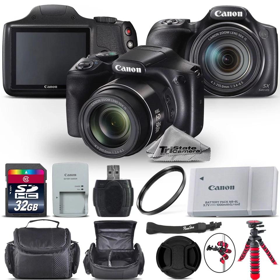 Canon PowerShot SX540 HS Digital Camera – Kit B