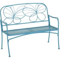 Mainstays Butterfly Outdoor Patio Bench - Walmart.com