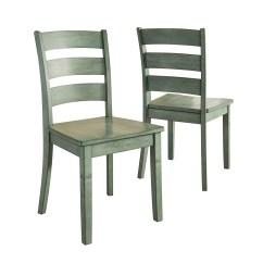 Ladder Back Dining Chairs Dryer Salon Lexington Chair Set Of 2 Multiple Colors Walmart Com