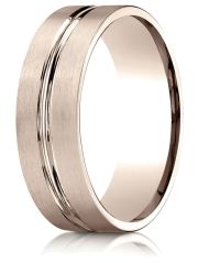 finejewelers - 14k rose gold 7mm