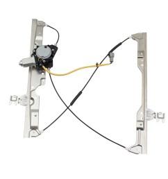 brock pair set front power window lift regulators w motor assemblies for 04 09 nissan quest 807215z000 807205z000 walmart com [ 1000 x 1000 Pixel ]