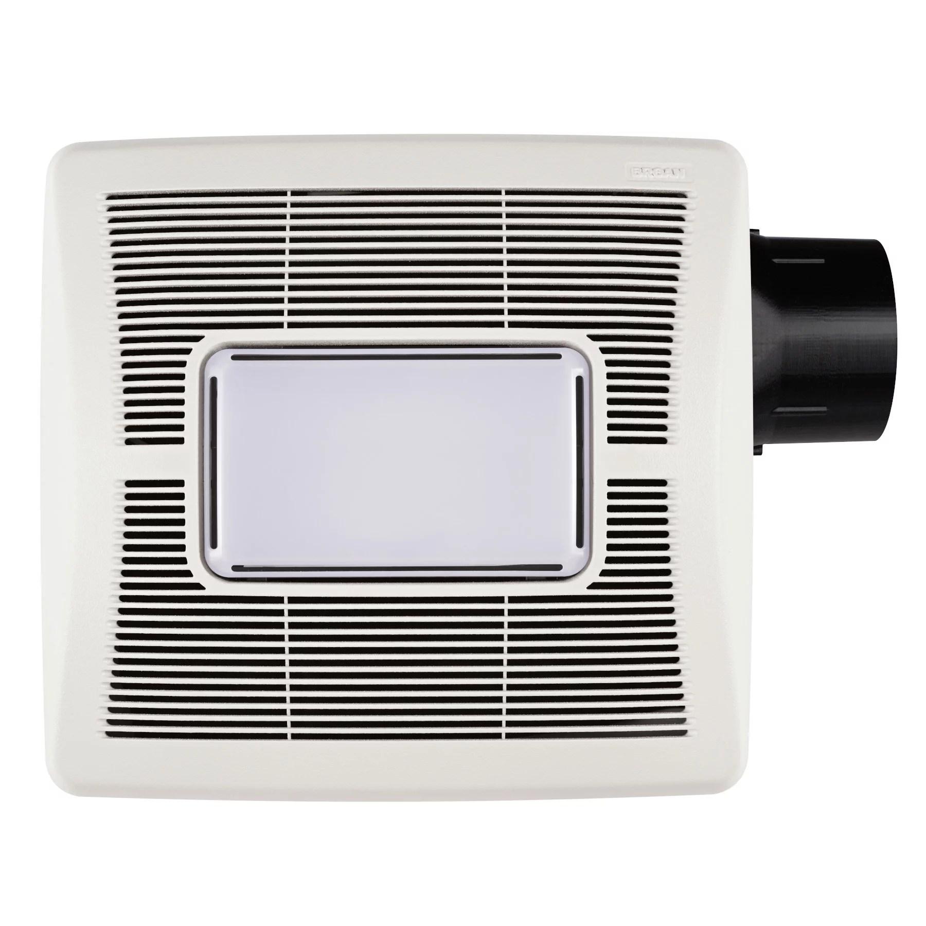 broan flex series 70 cfm ceiling roomside installation bathroom exhaust fan with light