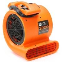 CFM PRO Air Mover & Carpet Dryer Blower Fan - 3,200 Series ...