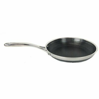 HexClad Residential Hybrid Stainless Steel/Nonstick Tri ...