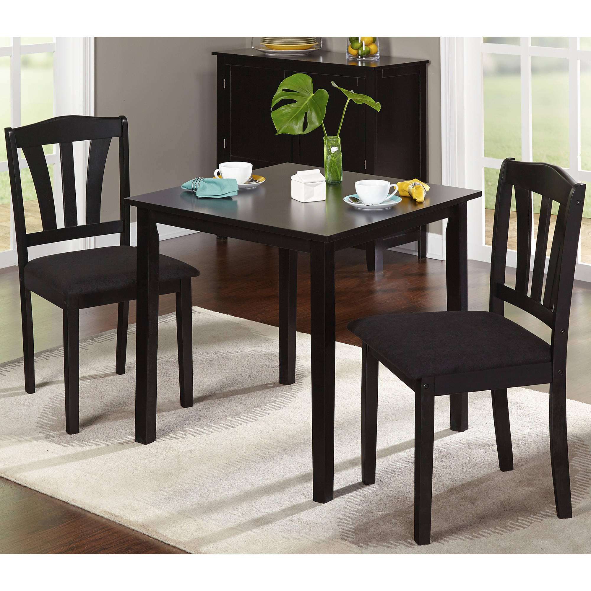 Table With 2 Chairs Target Marketing Systems Tiffany 3 Piece Dining Table Set