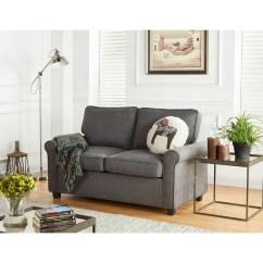 Foam Sofa Sleeper Man Cave Gray Loveseat Memory Mattress Grey Beds Small Spaces Seat