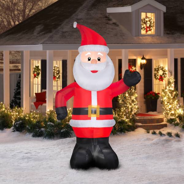 Gemmy Airblown Christmas Inflatables 10' Santa