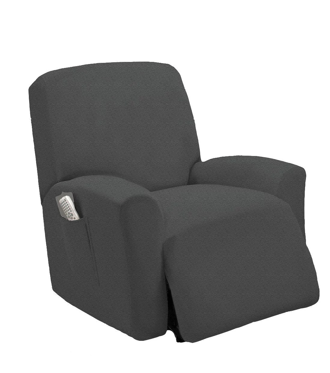 recliner chair covers grey leather dining room chairs with casters marcielo one piece stretch slipcover fit furniture lazy boy cover 1 couch walmart com