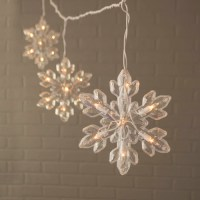 Outdoor String Lights Snowflake String Lights Indoor ...