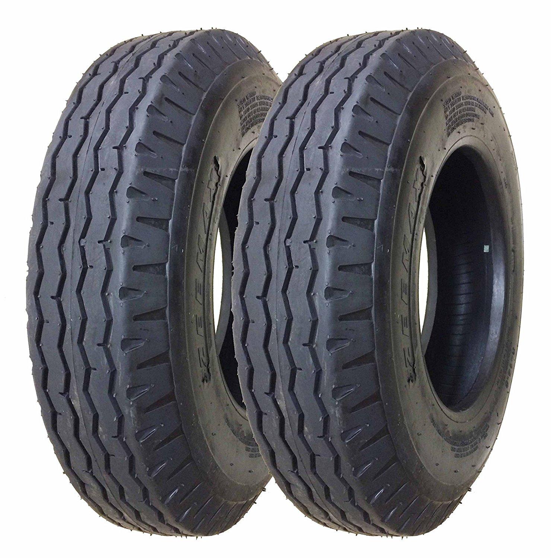 Set of 2 New Mobile Home Trailer Tires 8-14.5 14PR Load Range G- 11067