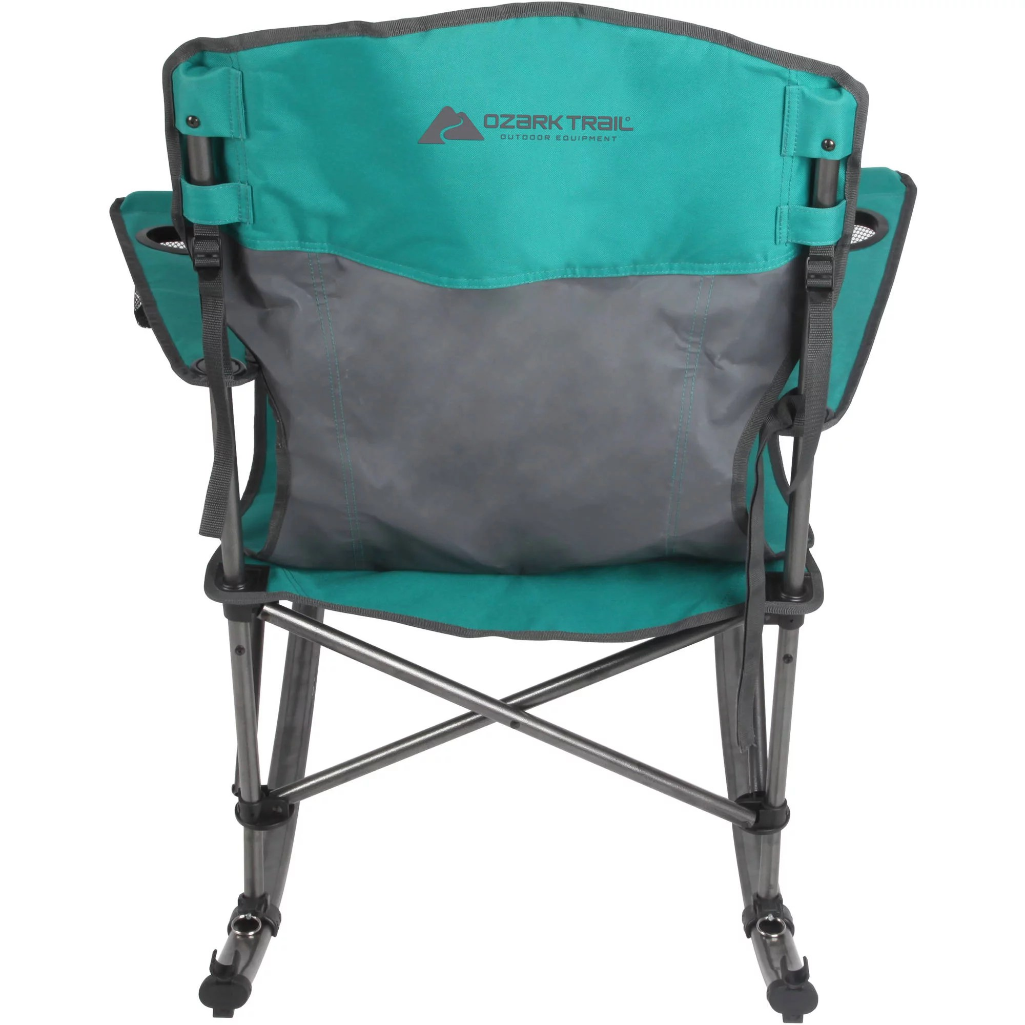 Trail Chair Ozark Trail Rocking Chair Green Ebay