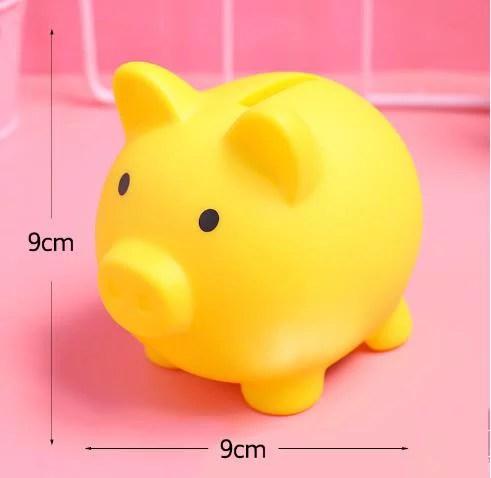 Cartoon Pig Money Bank Children S Coins Storage Box Kids Toys Home Decor Money Saving Boxes Walmart Canada