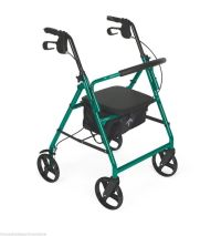 MDS Online Rollator Rolling Wheeled Walker 4 Wheel With ...
