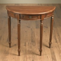 AA Importing Half Round Console Table - Walmart.com