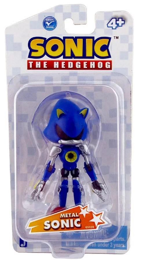 Sonic The Hedgehog Metal Sonic Action Figure Walmart