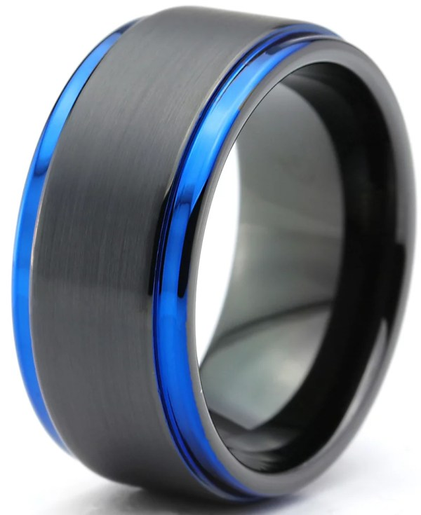Charming Jewelers - Tungsten Wedding Band Ring 10mm