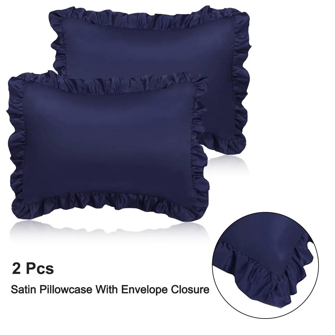 euro pillow shams blue walmart com