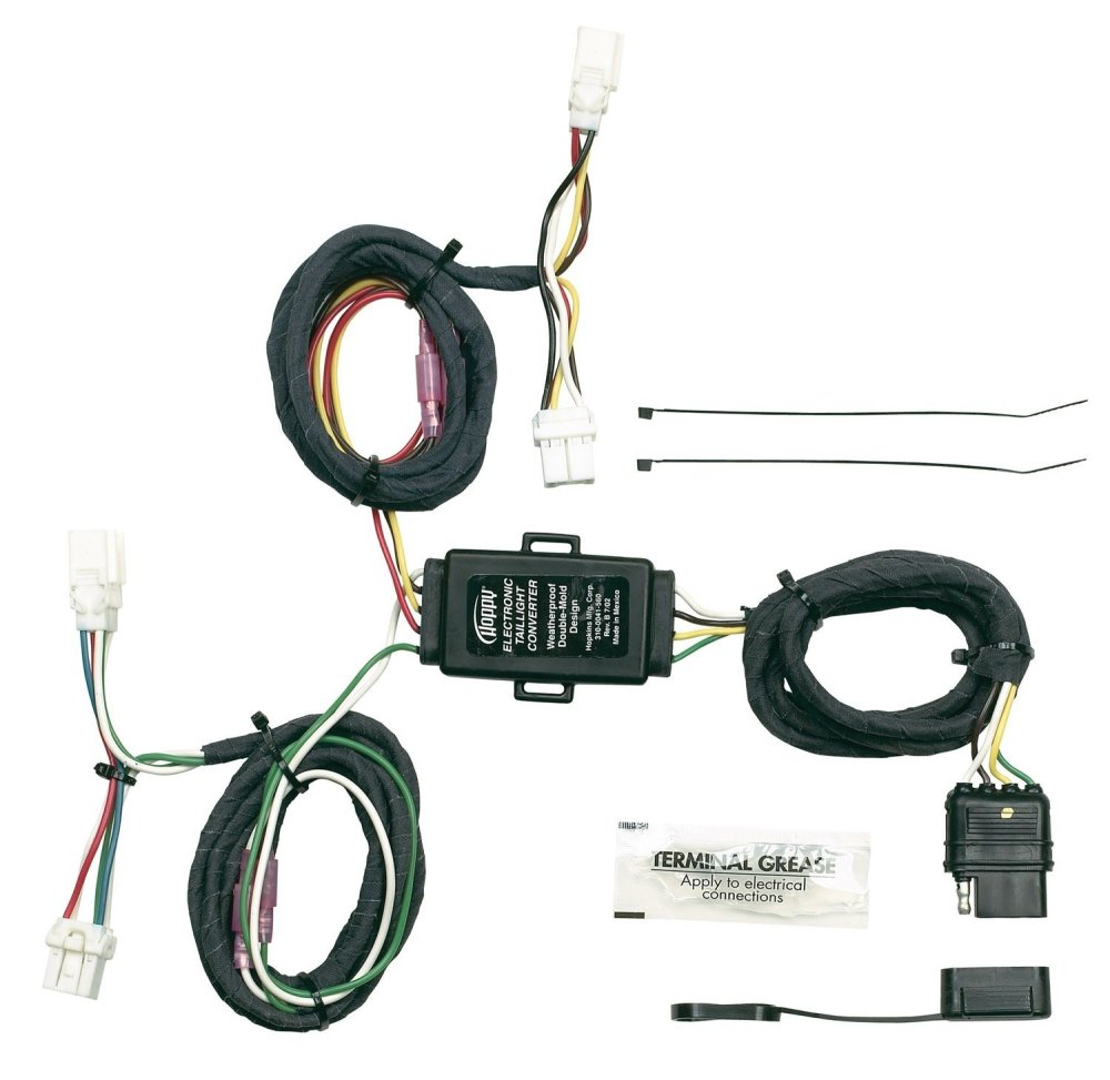 medium resolution of hopkins 43565 plug in simple vehicle wiring kit t connectors allow you to