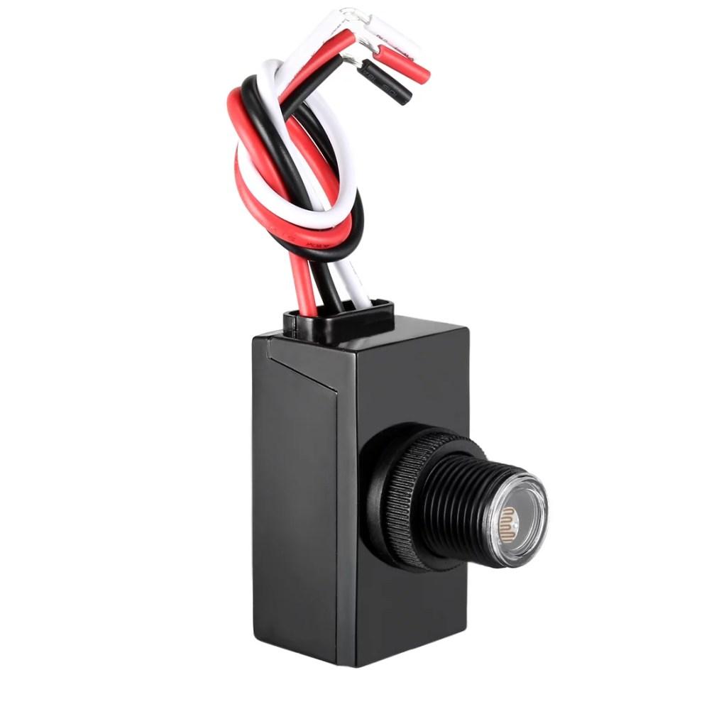 medium resolution of photo electric resistor dusk to dawn photocell 120 277v outdoor light sensor