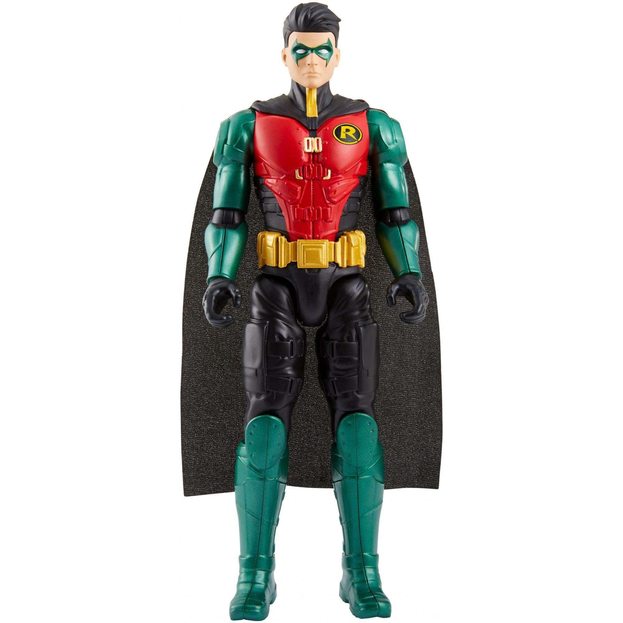Dc Comics Batman Missions 12 Inch True Moves Robin Action Figure Walmart Com Walmart Com