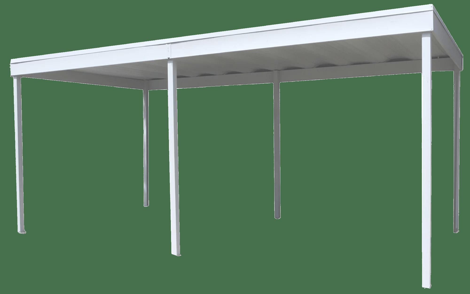 arrow freestanding steel carport patio cover 10x20 eggshell