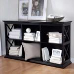 Belham Living Hampton Tv Stand Bookcase Black Walmart Com