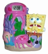 SpongeBob Squarepants Projecting Alarm Clock - Projects ...