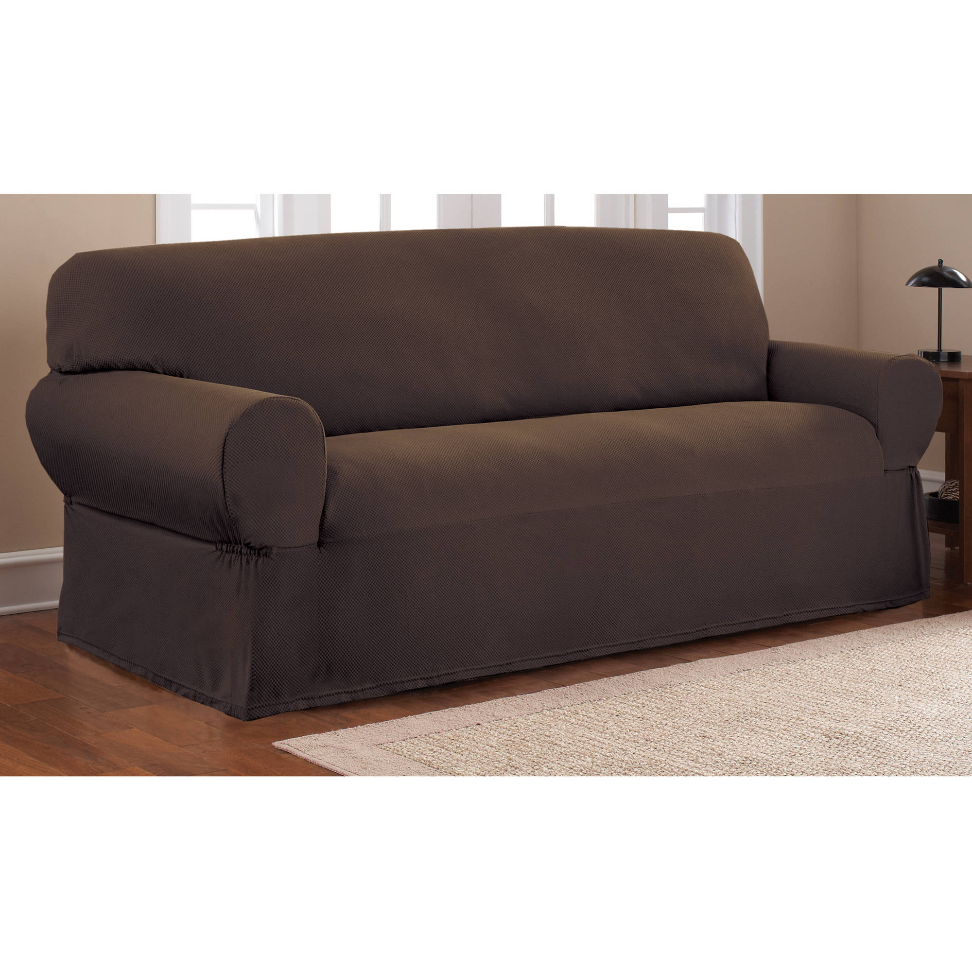 7 piece sofa covers dual recliner product features