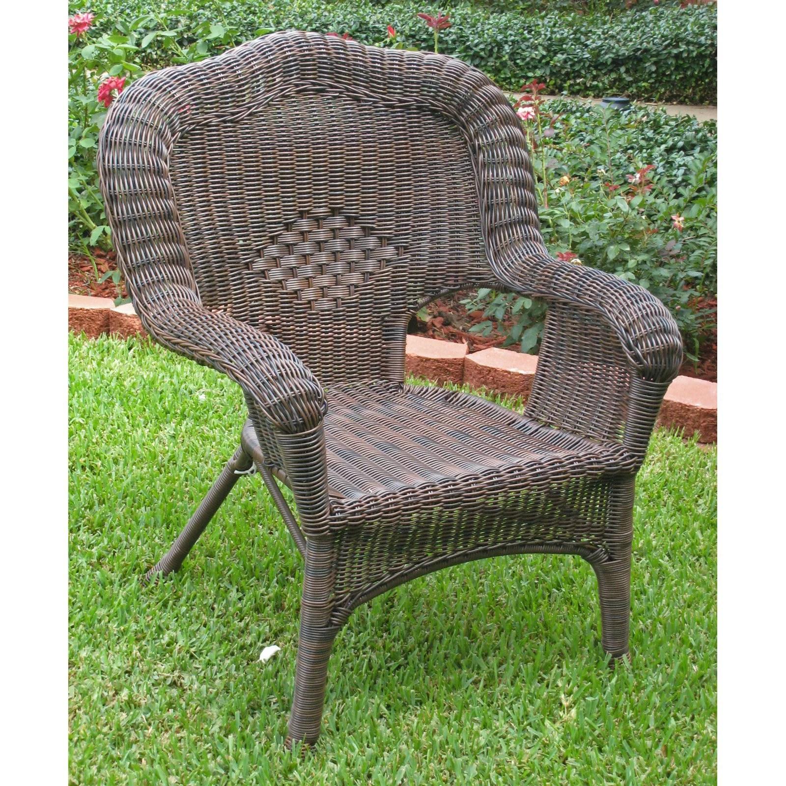 walmart resin chairs painting plastic with chalk paint international caravan madison wicker patio chair com