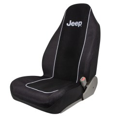 Jeep Desk Chair Recycled Plastic Chairs Plasticolor Text Embroidered Seat Cover Walmart Com