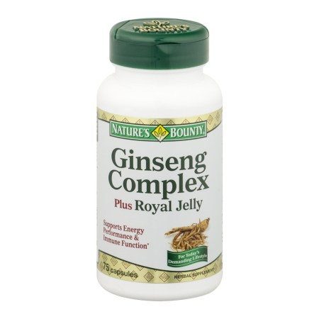 Image Result For Natures Bounty Ginseng Complex Plus Royal Jelly Caps