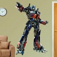 Hasbro Transformers 3 Optimus Prime Wall Decal - Walmart.com