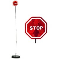 Imperial Home Parkez Flashing LED Light Parking Stop Sign ...