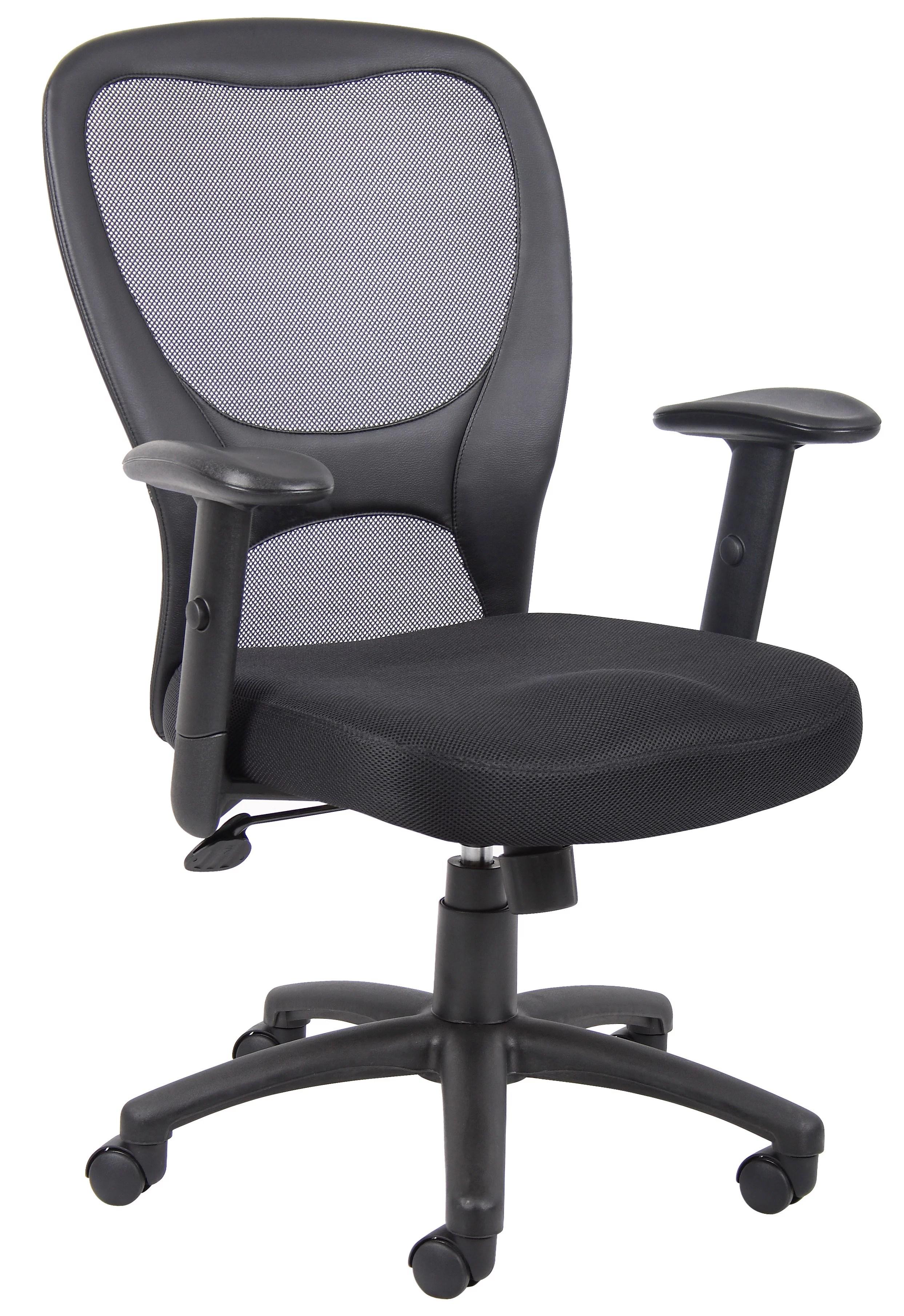 mesh task chair coleman camp chairs boss office home budget walmart com